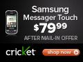 Samsung Messenger Touch Cheap
